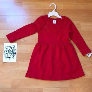 Carter's PW - OP Little Red Dress 💃 - 3T